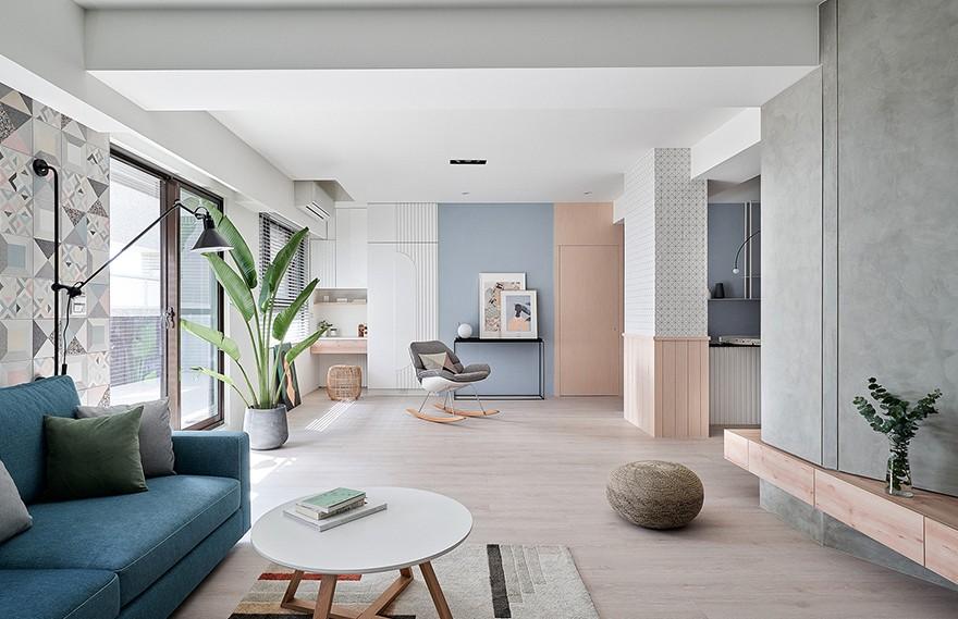 NestSpace Design | Ne On Apartment , 迷人的极简主义住宅