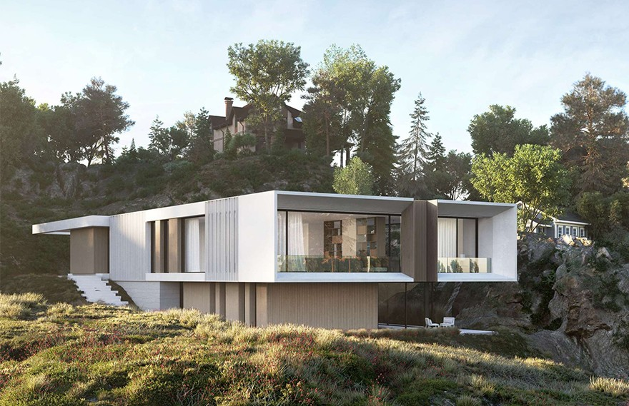 Artem Babayants | Dom V Norvegii , 挪威极简主义建筑