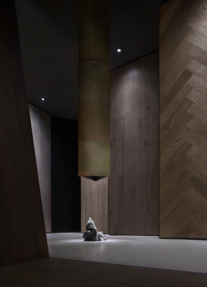Point Depth Design   BOEN Wooden Floor Exhibition