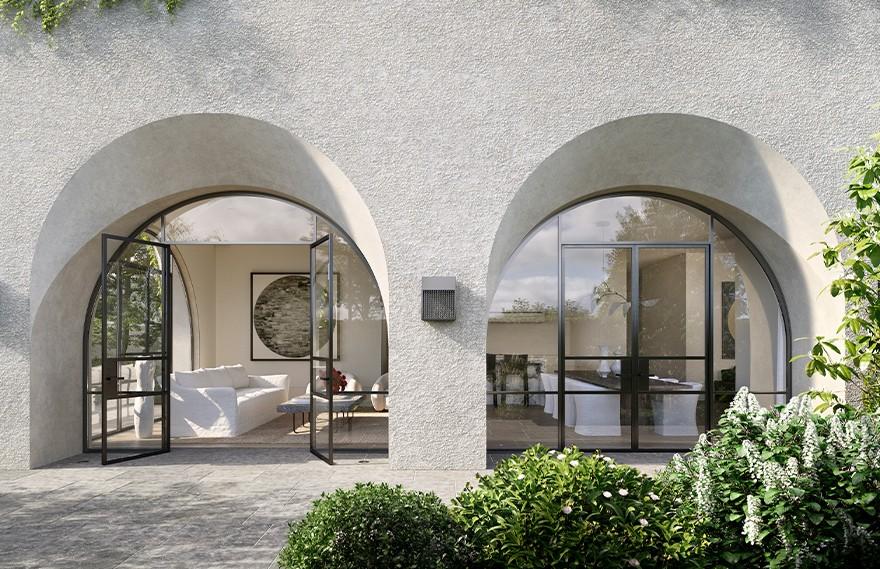 Jolson Architecture | Huntingtower Road , 自然主义的极简别墅