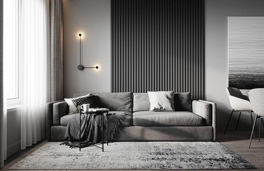 Alina Aleinikova   Gray Apartment