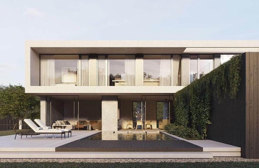 Artem Babayants | SW House , 极简建筑的魅力