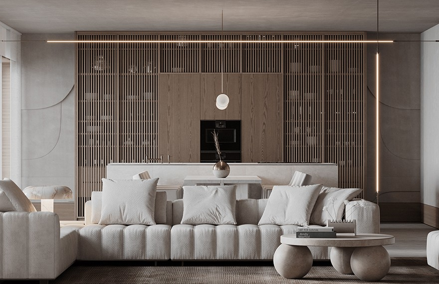 Ann Kaznoha   Line Apartment