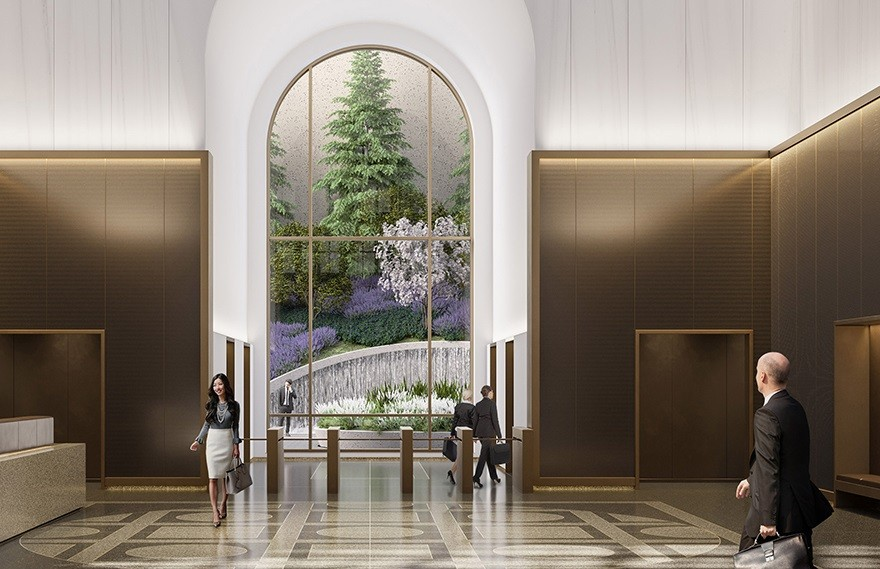 Gensler | AT&T 大堂 , 后现代主义的摩天大楼