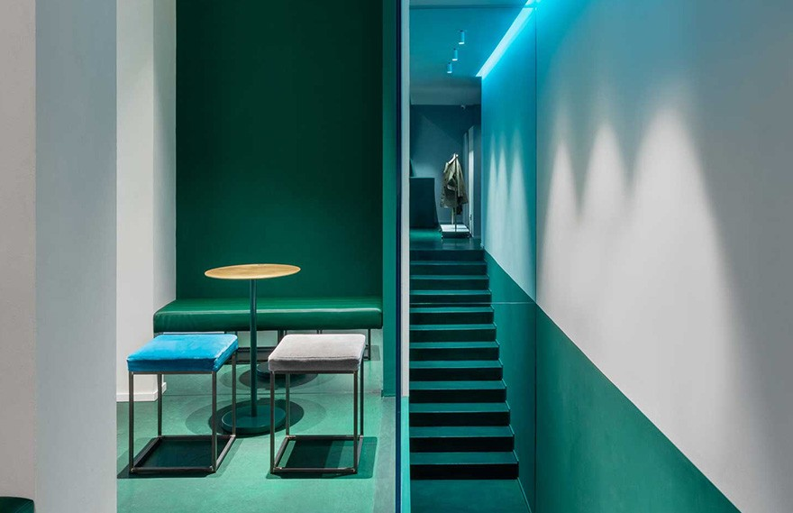 Visual Display | Slowear18 Milan Concept Store , 当代创新的设计概念