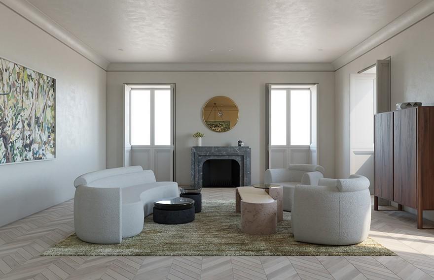 Daniel Boddam | Paris Apartment