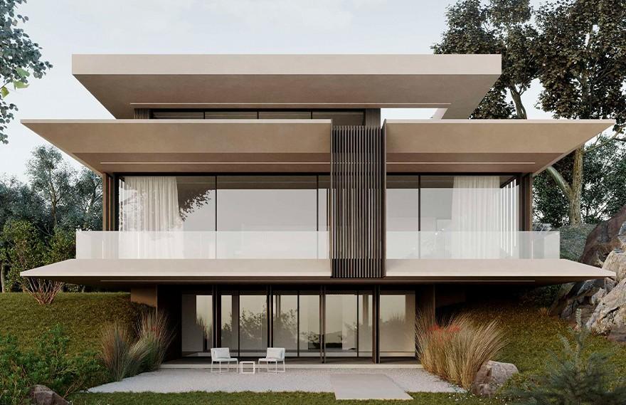 Artem Babayants | YTH House , 极简建筑的绝美气质